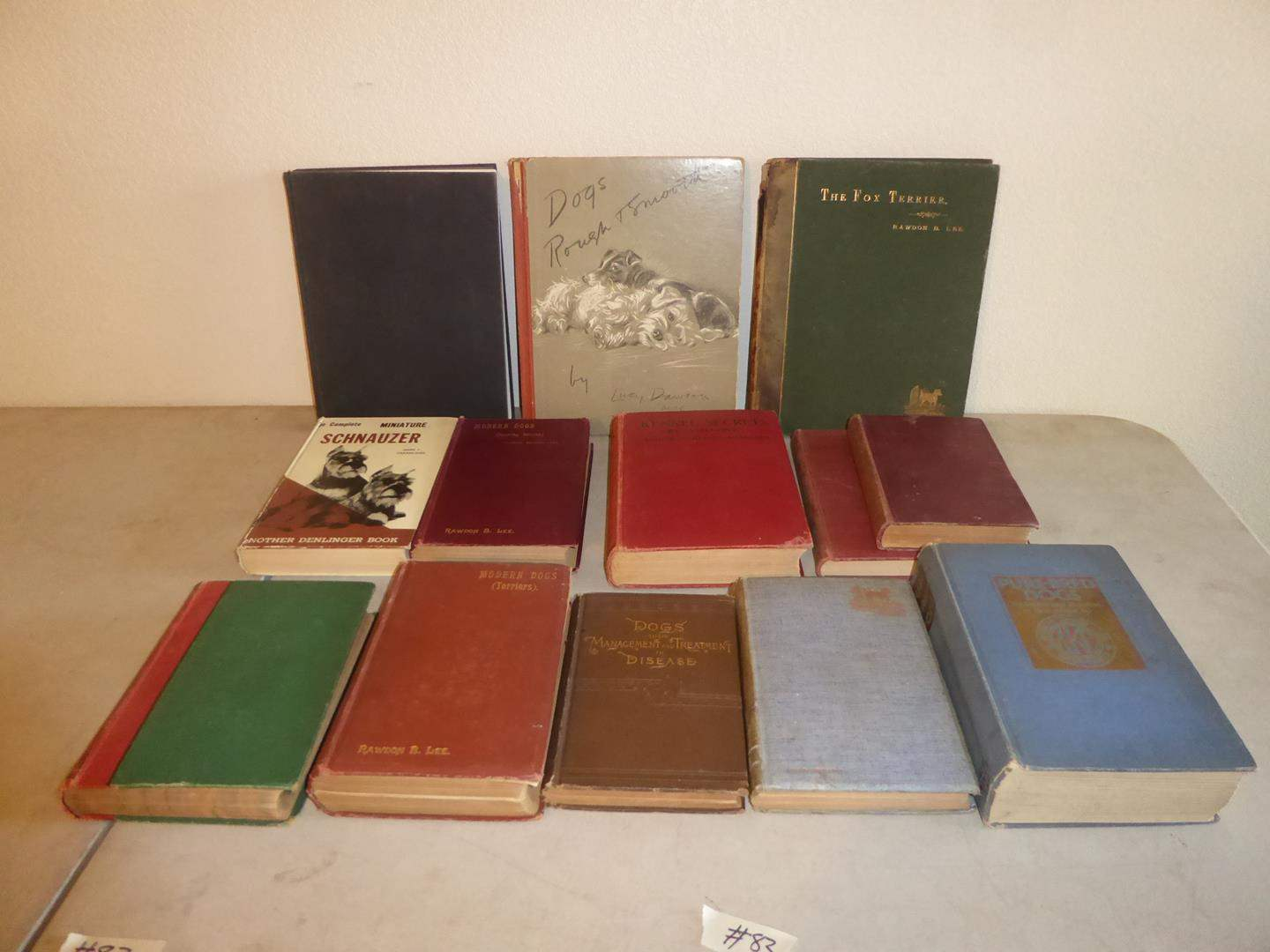 Lot # 83 - Antique & Vintage Dog Books (main image)