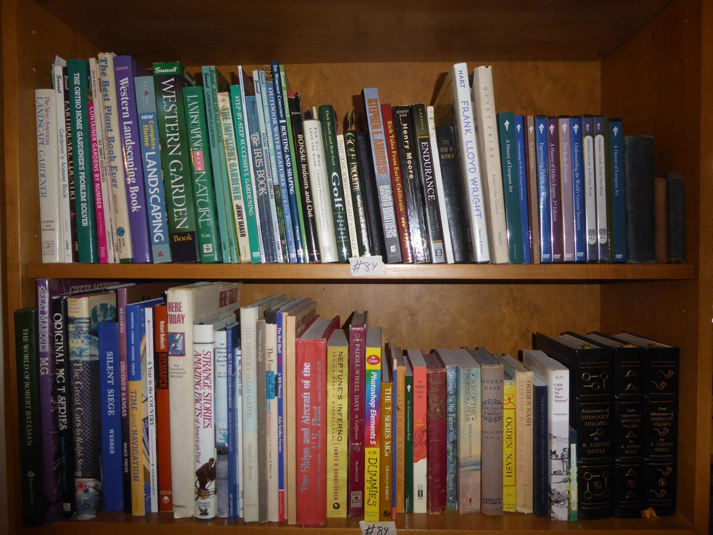 Lot # 84 - Assorted Books - Shelf not Included (main image)