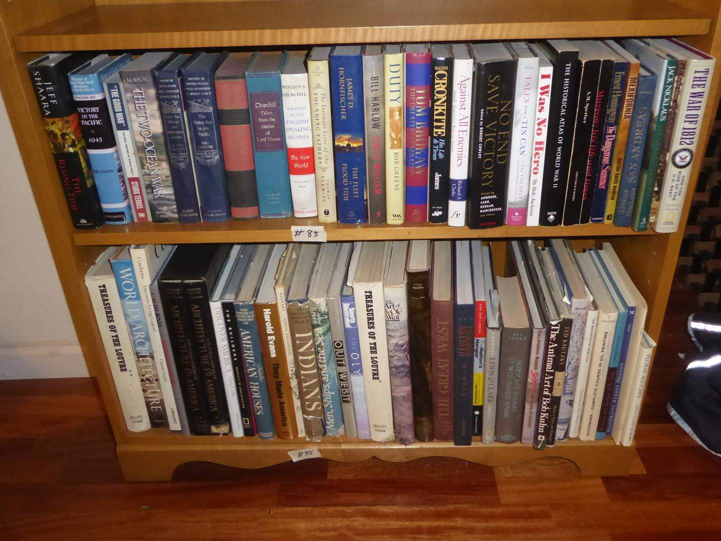 Lot # 85 - Assorted Books - Shelf not Included (main image)