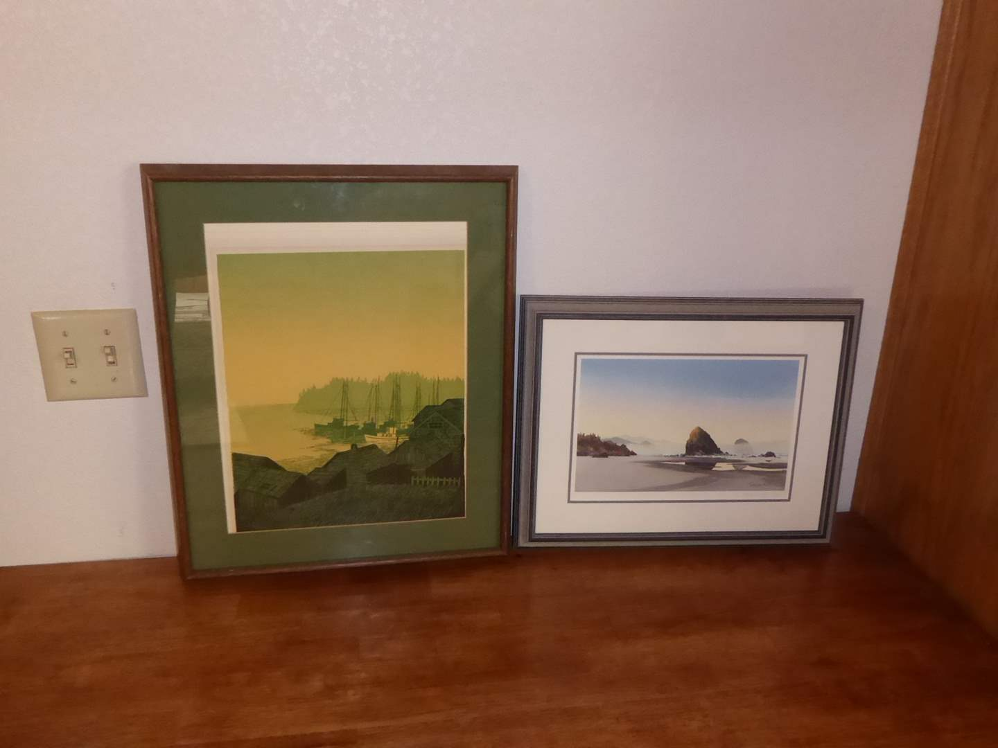 Lot # 40 - Jeffry Hull Giclee Print & Other Framed Print  (main image)
