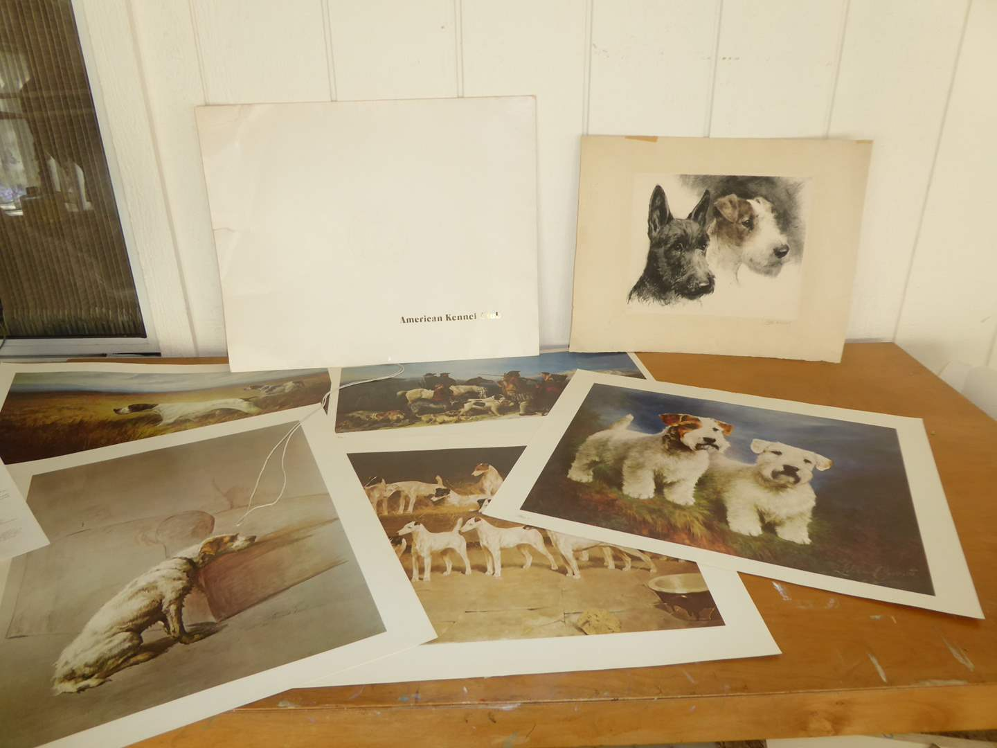 Lot # 46 - American Kennel Club Prints & Other Dog Print  (main image)