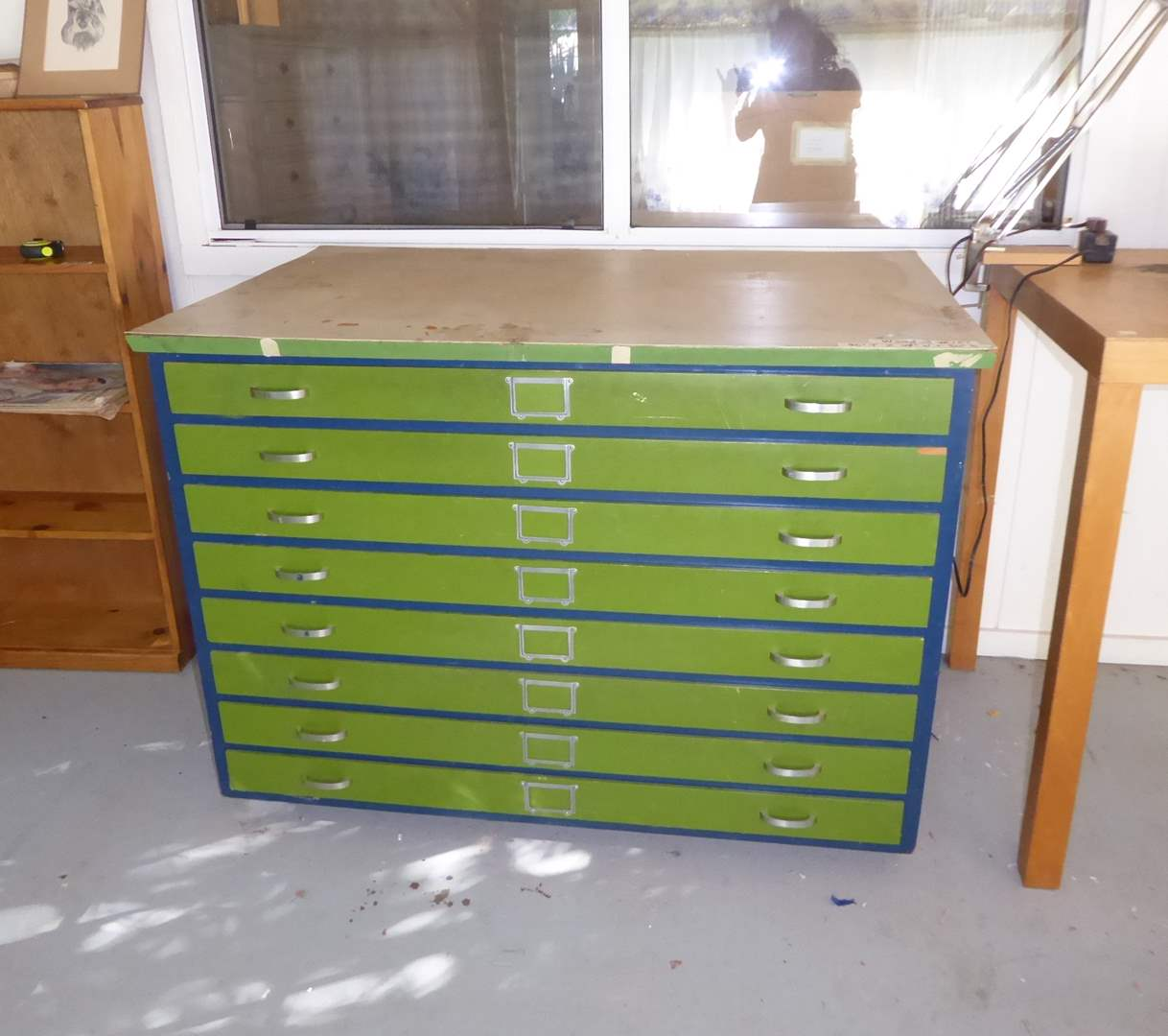 Lot # 151 - Drafting & Art Cabinet  (main image)