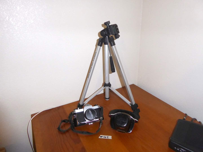 Lot # 162 - Honeywell Pentax Camera & Vista Traveler Tripod  (main image)