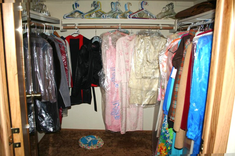 Lot #23 ~ Entire Walk-In Closet Full -  Vintage Clothing (main image)