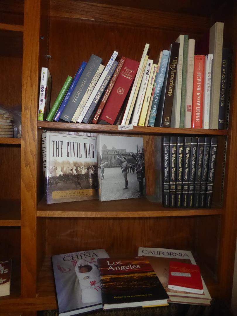 Lot # 70 - Assorted Books & Time Life Books (main image)