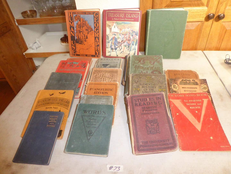 Lot # 73 - Antique & Vintage Books Collection (main image)