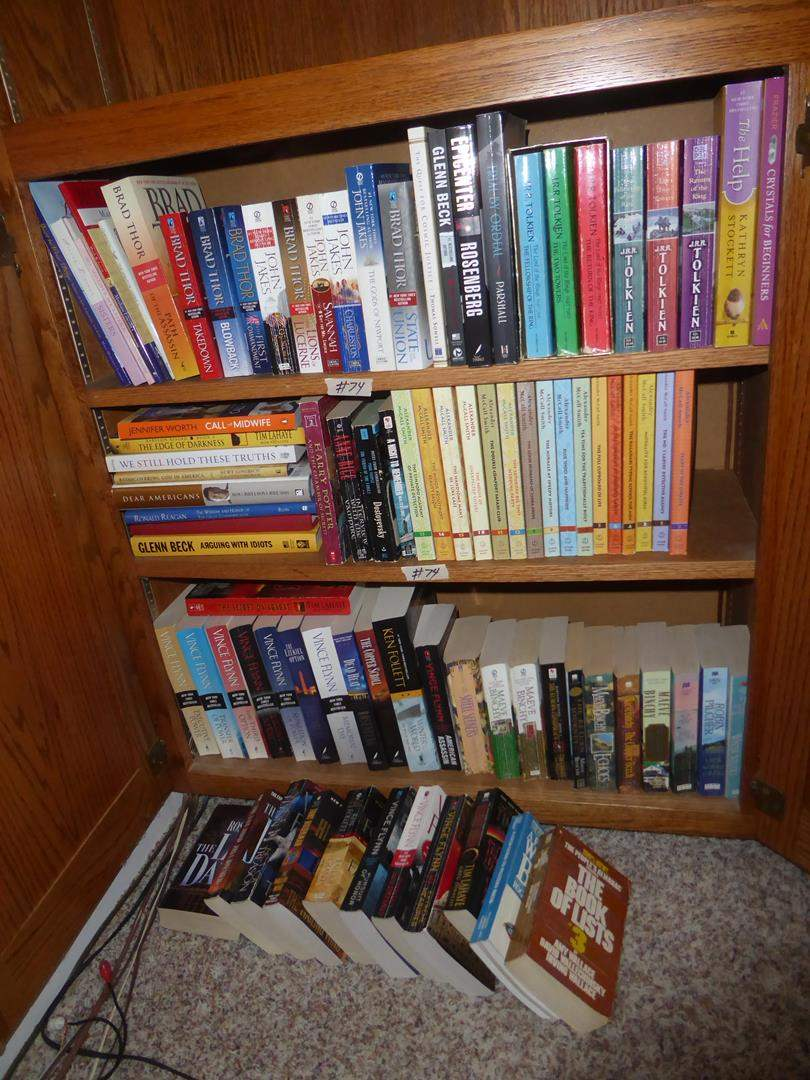 Lot # 74 - Assorted Books - Shelf Not Included (main image)
