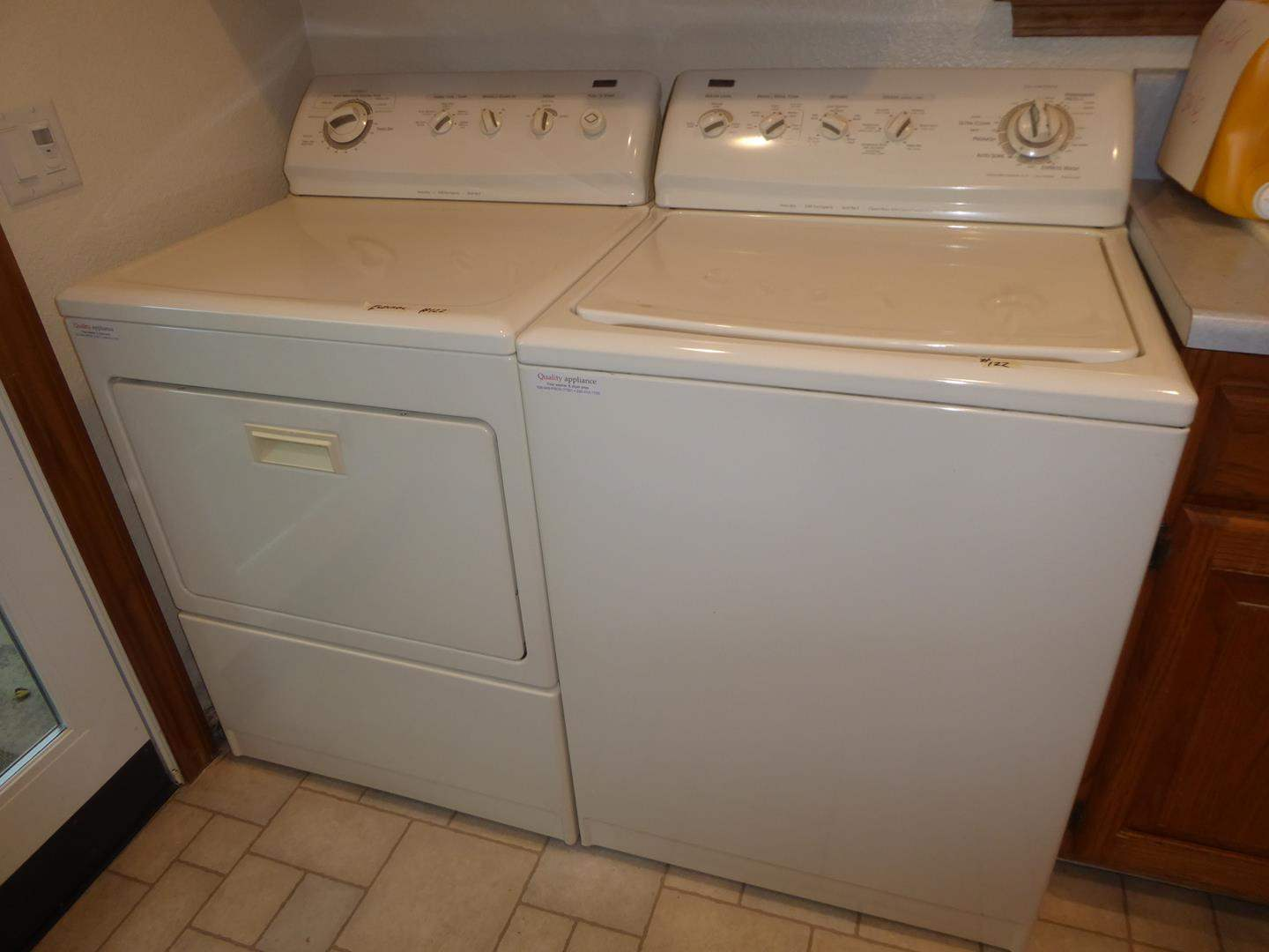 Lot # 122 - Kenmore Washer & Kenmore Electric Dryer (main image)