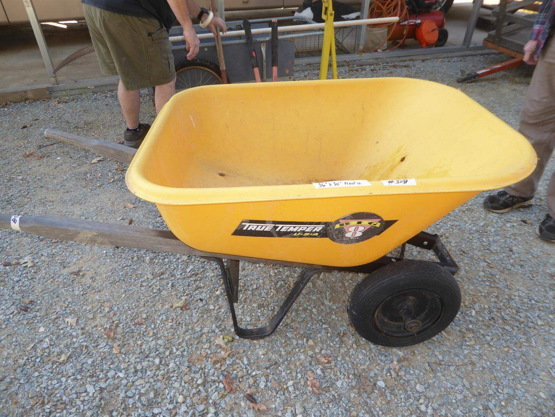 Lot # 308 - True Temper Plastic Wheelbarrow (main image)