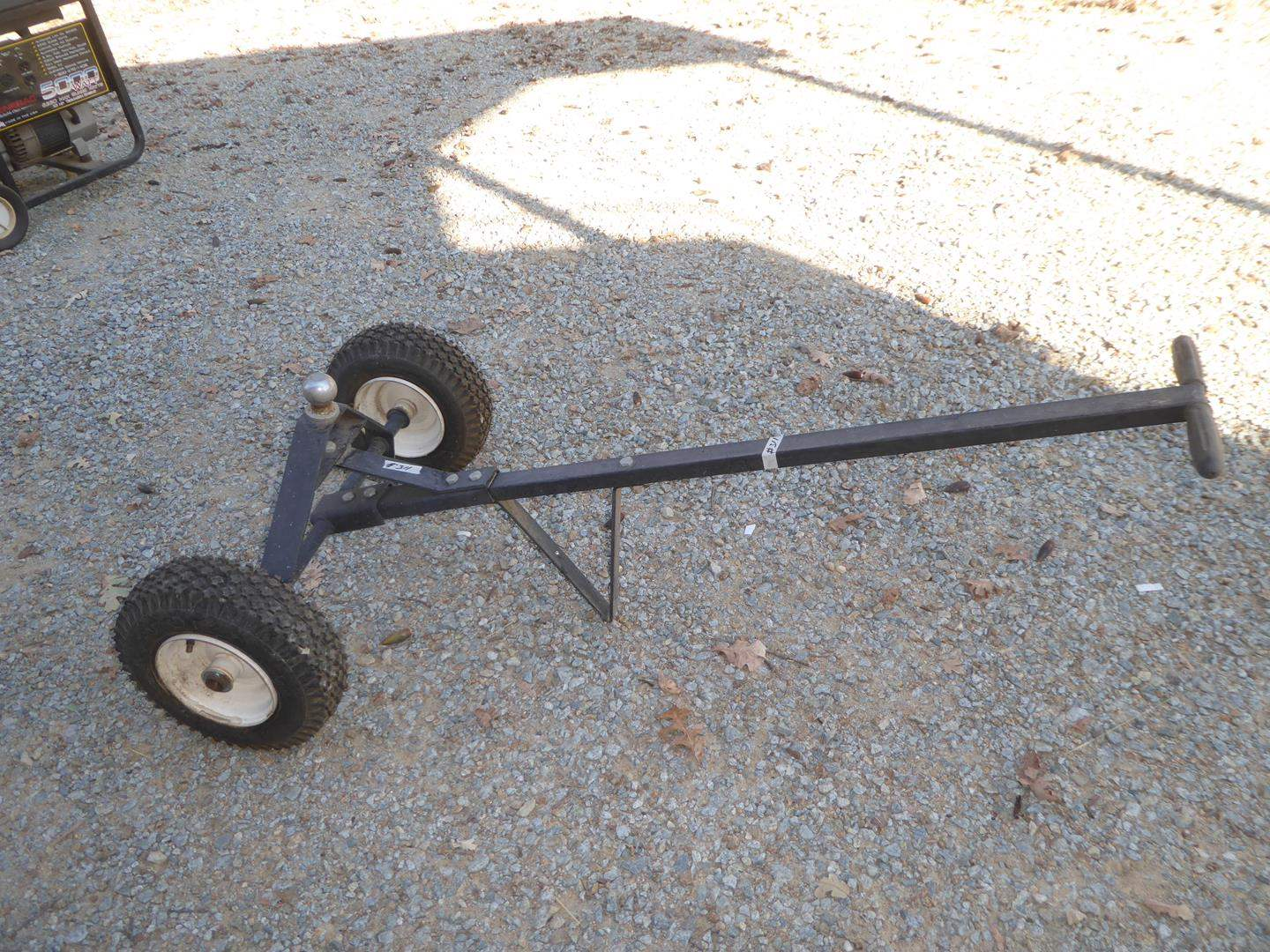 Lot # 311 - Manual Trailer Tongue Dolly (main image)