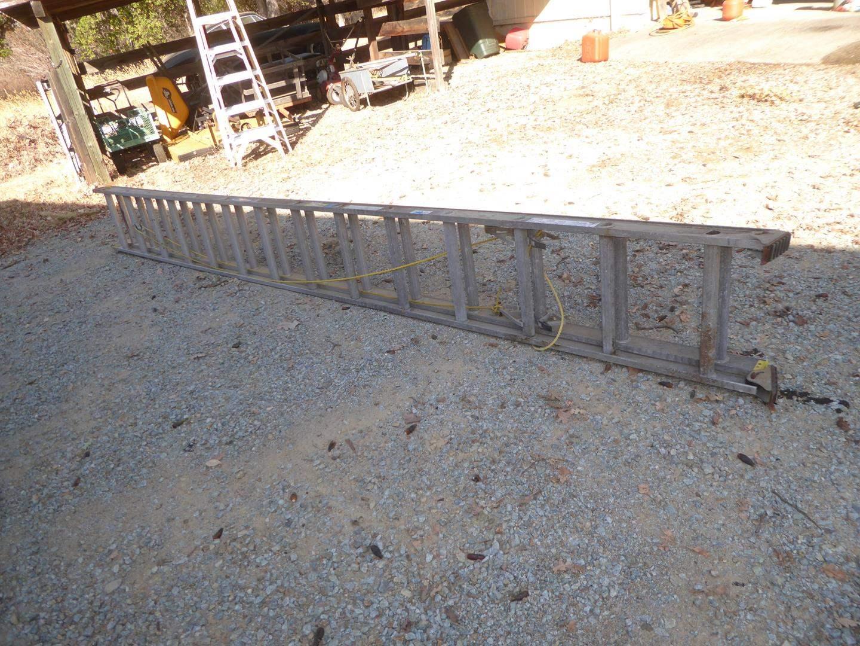 Lot # 313 - Werner 28' Extension Ladder (main image)