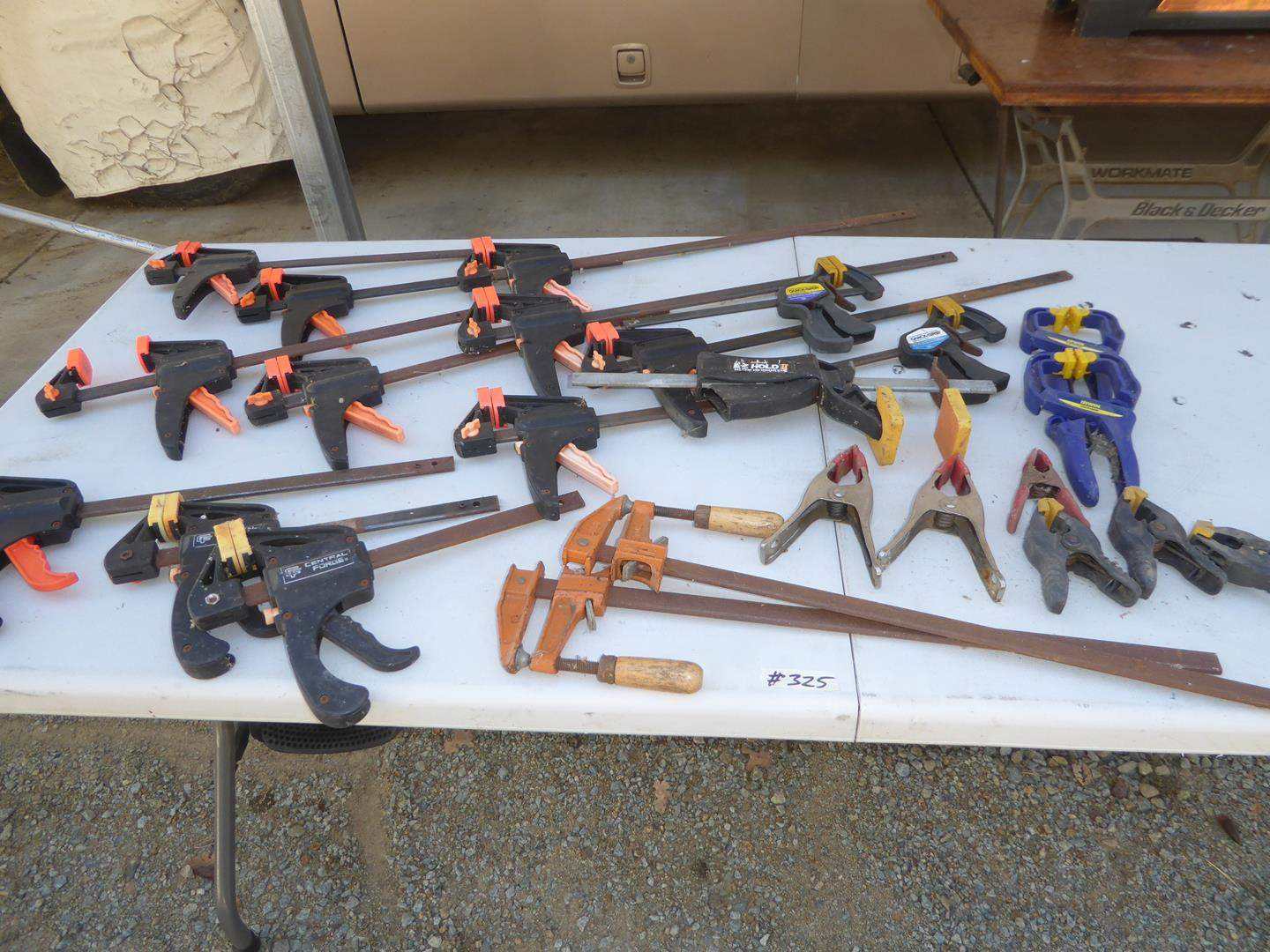 Lot # 325 - Assorted Clamps (main image)