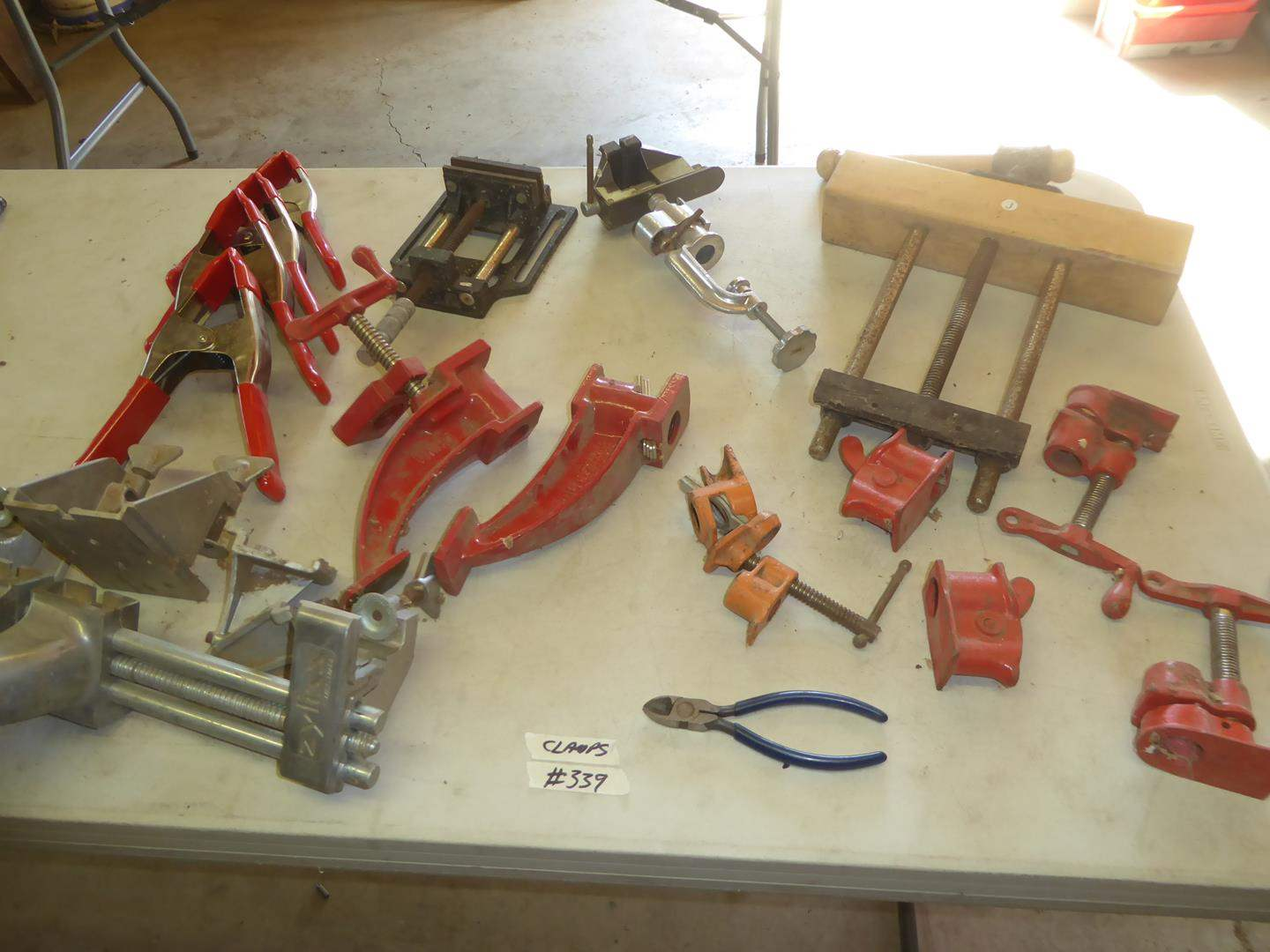 Lot # 339 - Assorted Clamps (main image)