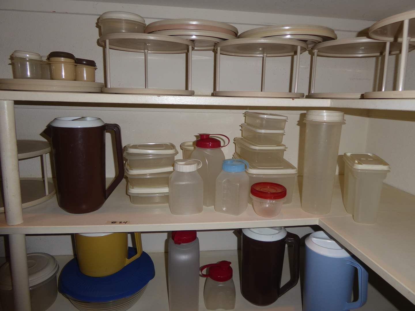 Lot # 24 - Rubbermade Storage Containers & Spice Racks (main image)