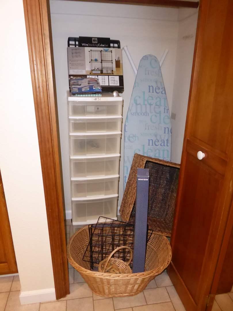 Lot # 31 - Home Organization & Storage Lot  (main image)
