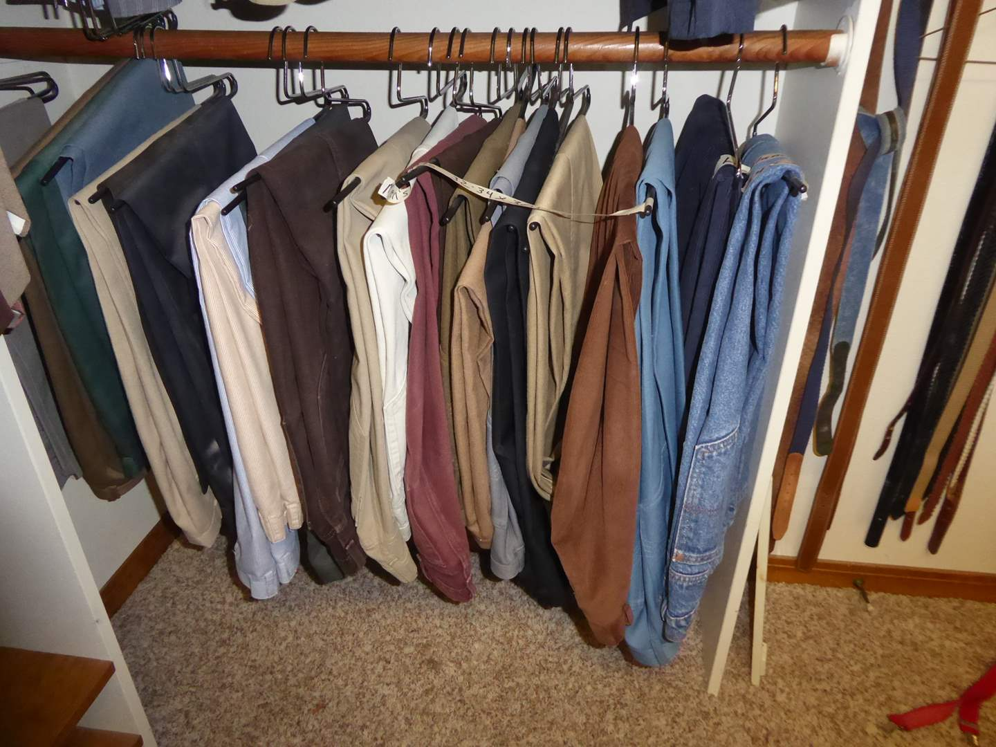 Lot # 220 - Men's Pants, Jeans & Belts  (main image)
