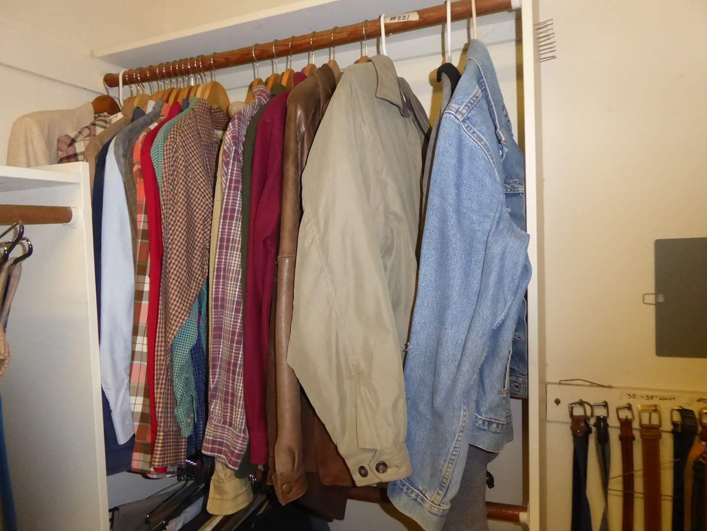 Lot # 221 - Men's Jackets & Button Up Shirts   (main image)