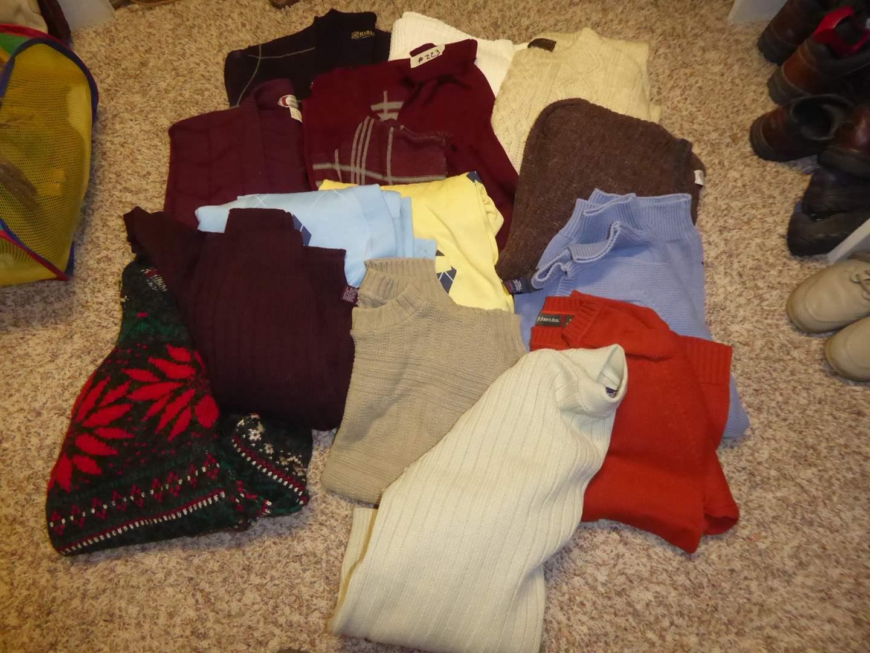 Lot # 223 - Men's Sweaters  (main image)