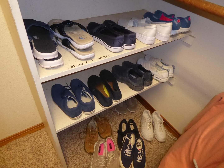 Lot # 228 - Ladies Shoes (Size 6-7)  (main image)