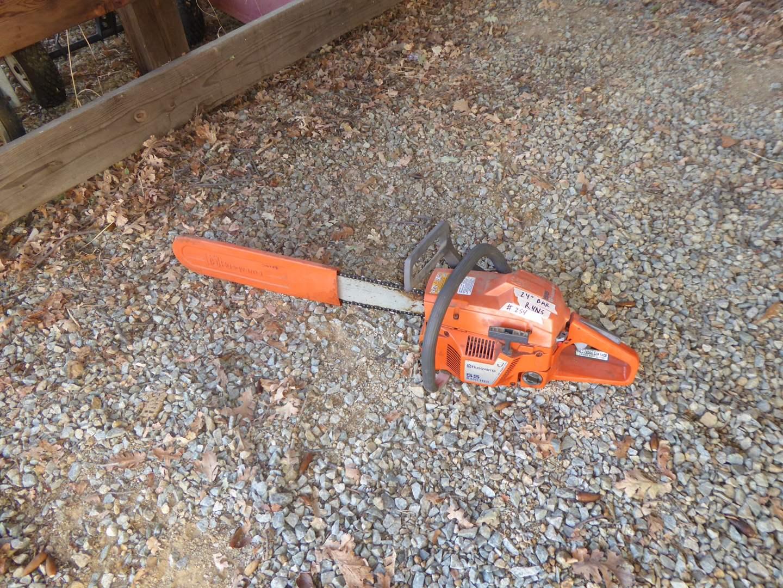 Lot # 254 - Husqvarna 55 Rancher Chainsaw  (main image)