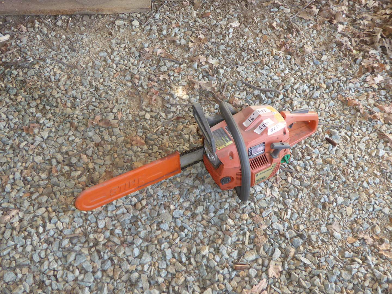 Lot # 255 - Husqvarna 136 Chainsaw  (main image)