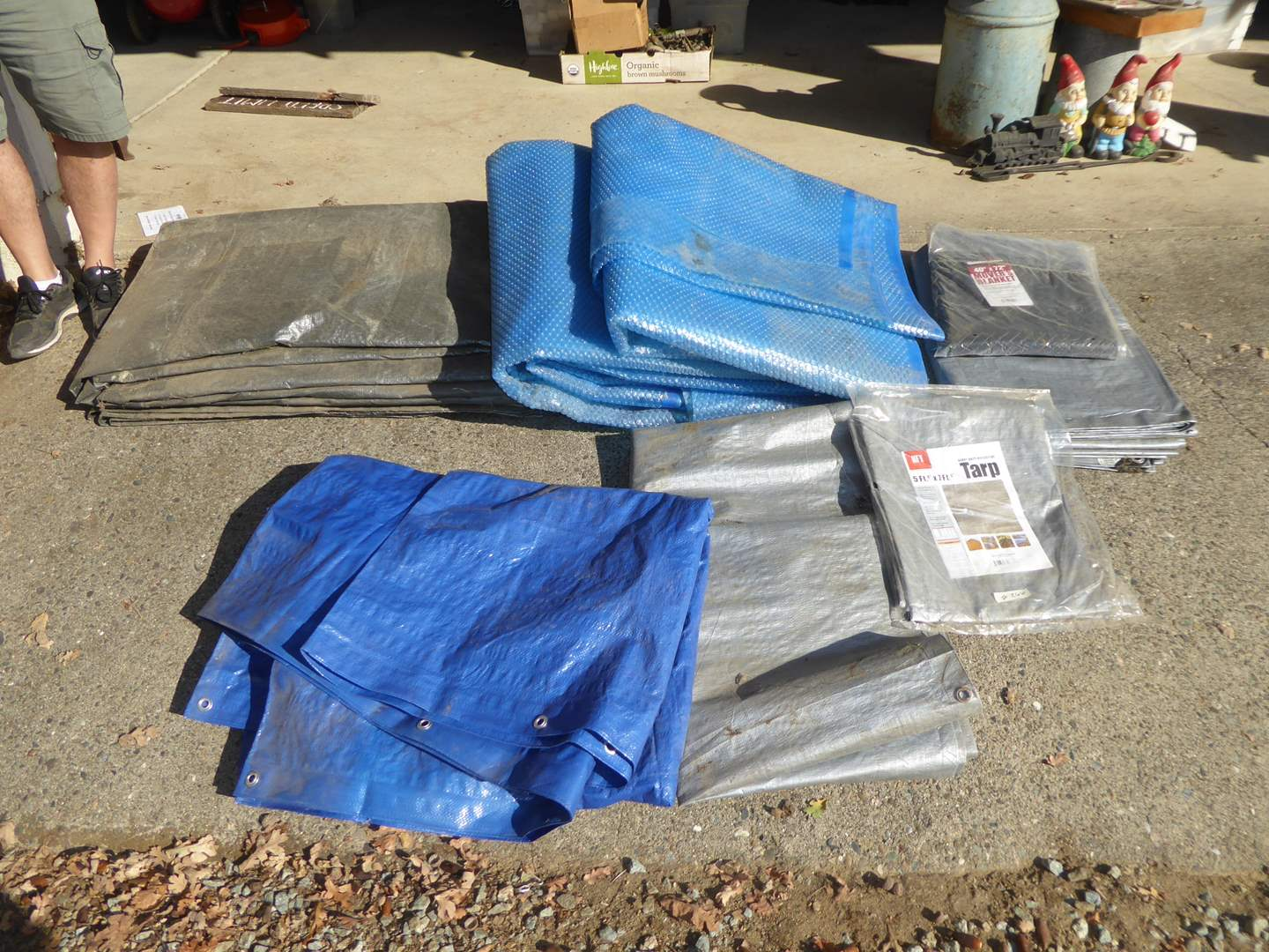 Lot # 266 - Tarps, Moving Blanket & Solar Coverings (main image)