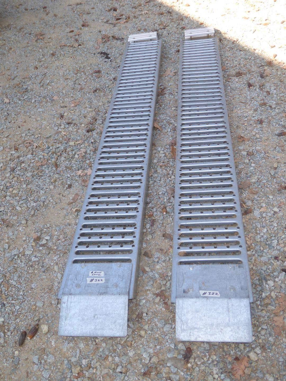 Lot # 322 - Pair 6' Metal Ramps (main image)