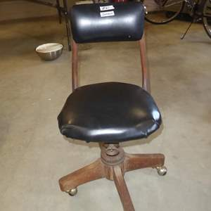 Lot # 61 - 'The Sikes Company' Vintage Office Chair