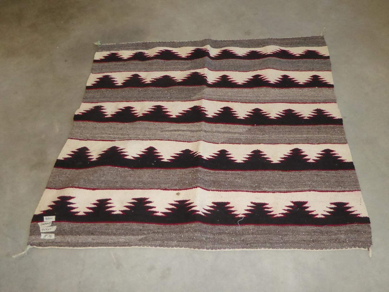 Lot # 76 - Vintage Southwest Wool Rug (main image)