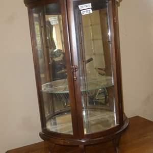 Lot # 82 - Small Mirrored Back Curio Cabinet