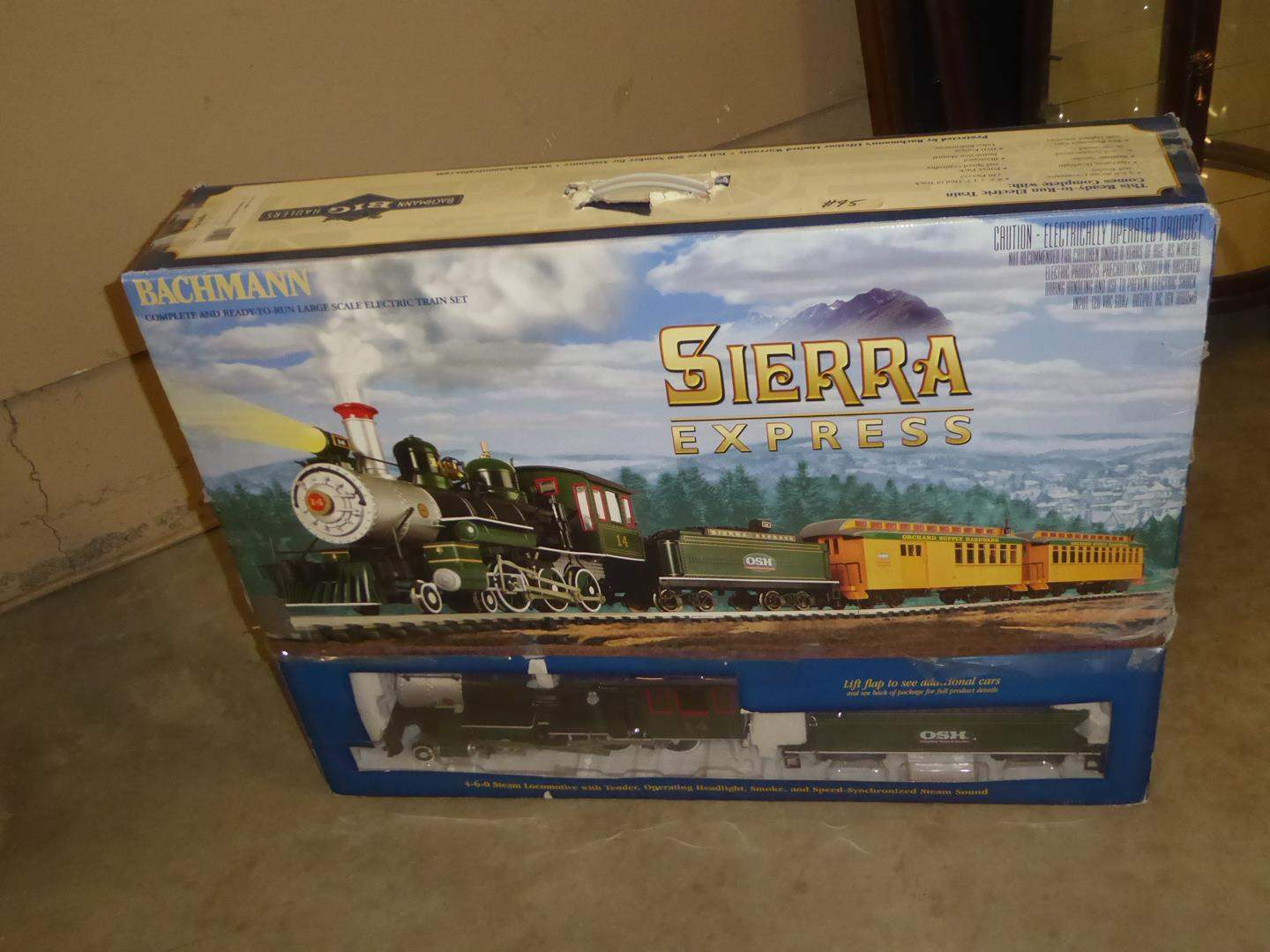Lot # 95 - Bachmann Authentic Large Scale Electric Train (main image)