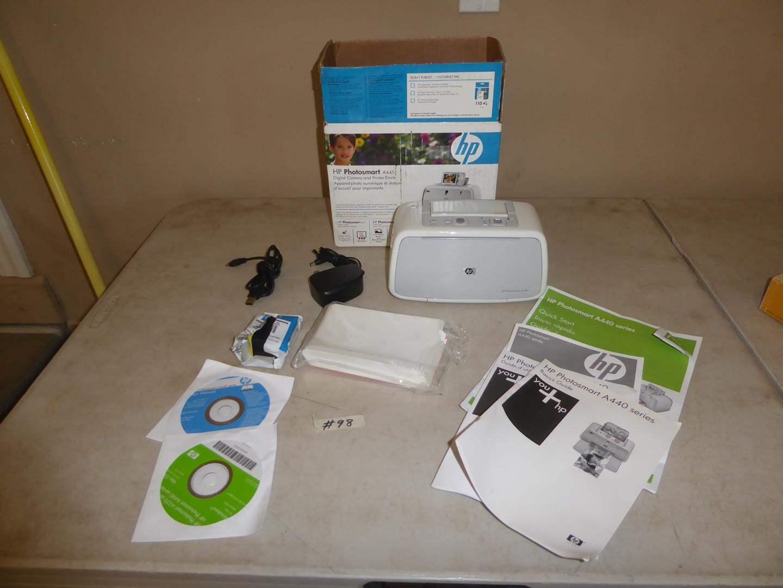 Lot # 98 - HP Photosmart Printer A440 (main image)