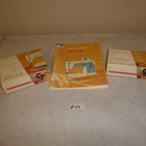 Lot # 99 - Vintage Singer Sewing Machine Accessories & Manual
