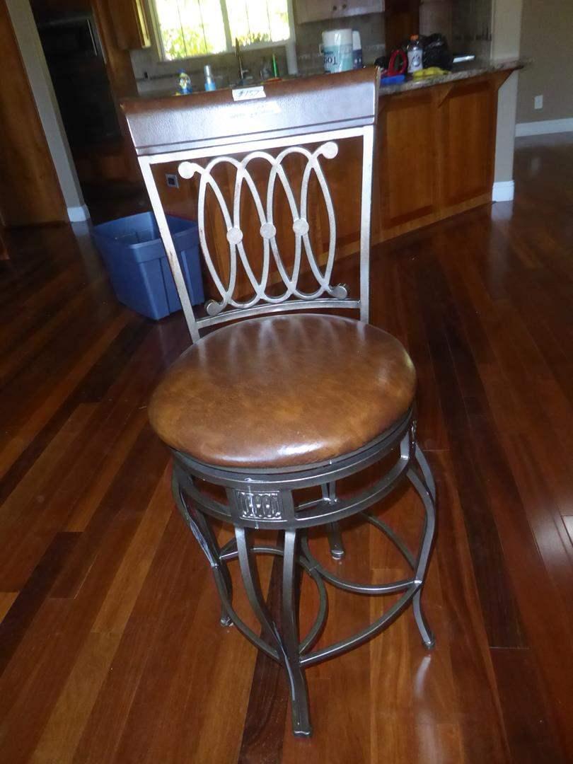 Lot # 157 - Swivel Bar Stool (main image)