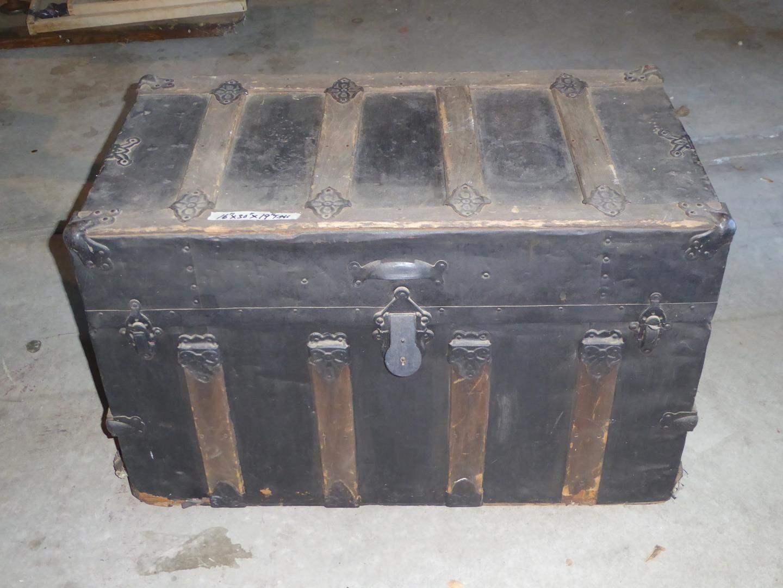 Lot # 248 - Vintage Steamer Trunk (main image)
