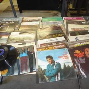 Lot # 254 - 50+ Vintage 33 rpm Vinyl Records Collection