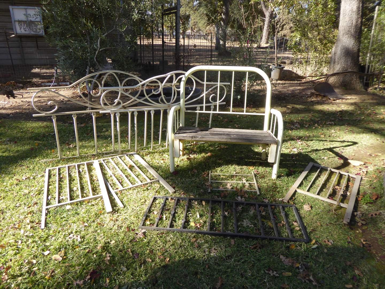 Lot # 22 - Garden Bench & Rails For Trellis  (main image)