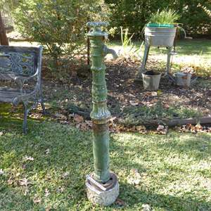 Lot # 29 - Vintage Outdoor Water Faucet (3 PC)