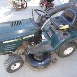 Lot # 222 - Craftsman Riding Lawn Mower
