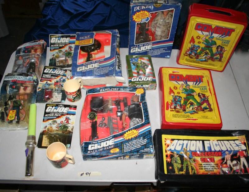 Lot #84 - GI Joe and Terminator Collectible Toys (main image)
