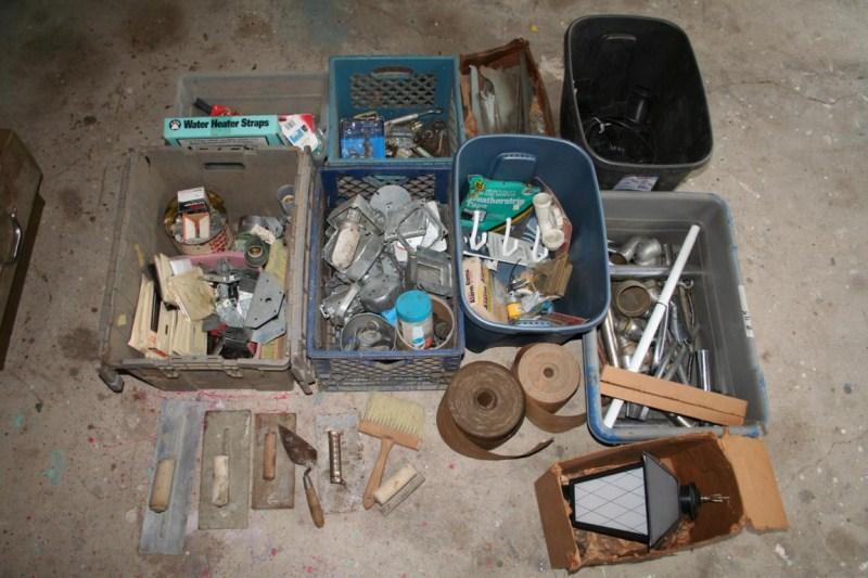 Lot #45 - Plumbing, Electrical & Masonry - Hardware .. ..  ..  ..  (main image)