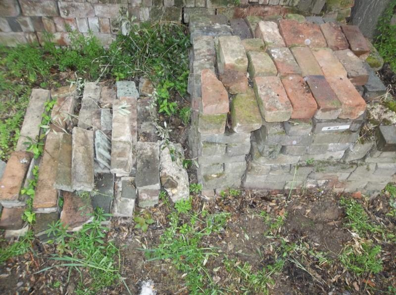 Lot #106 - Used Brick & Flag Stone Lot - Recovered From The Hotel Maywood - 6 of 6 (main image)