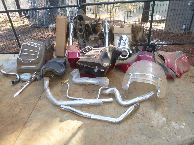 Lot # 50 - Misc. Harley Davidson Parts (main image)