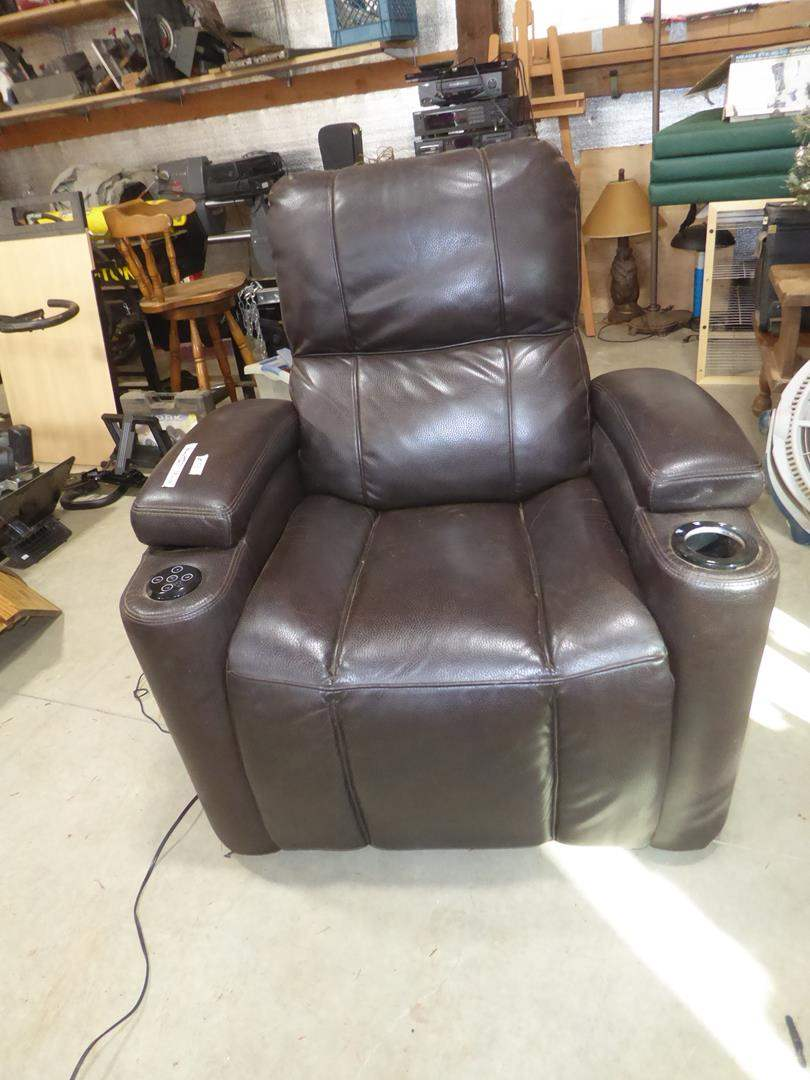 Lot # 52 - Electric Reclining Gaming Chair (main image)