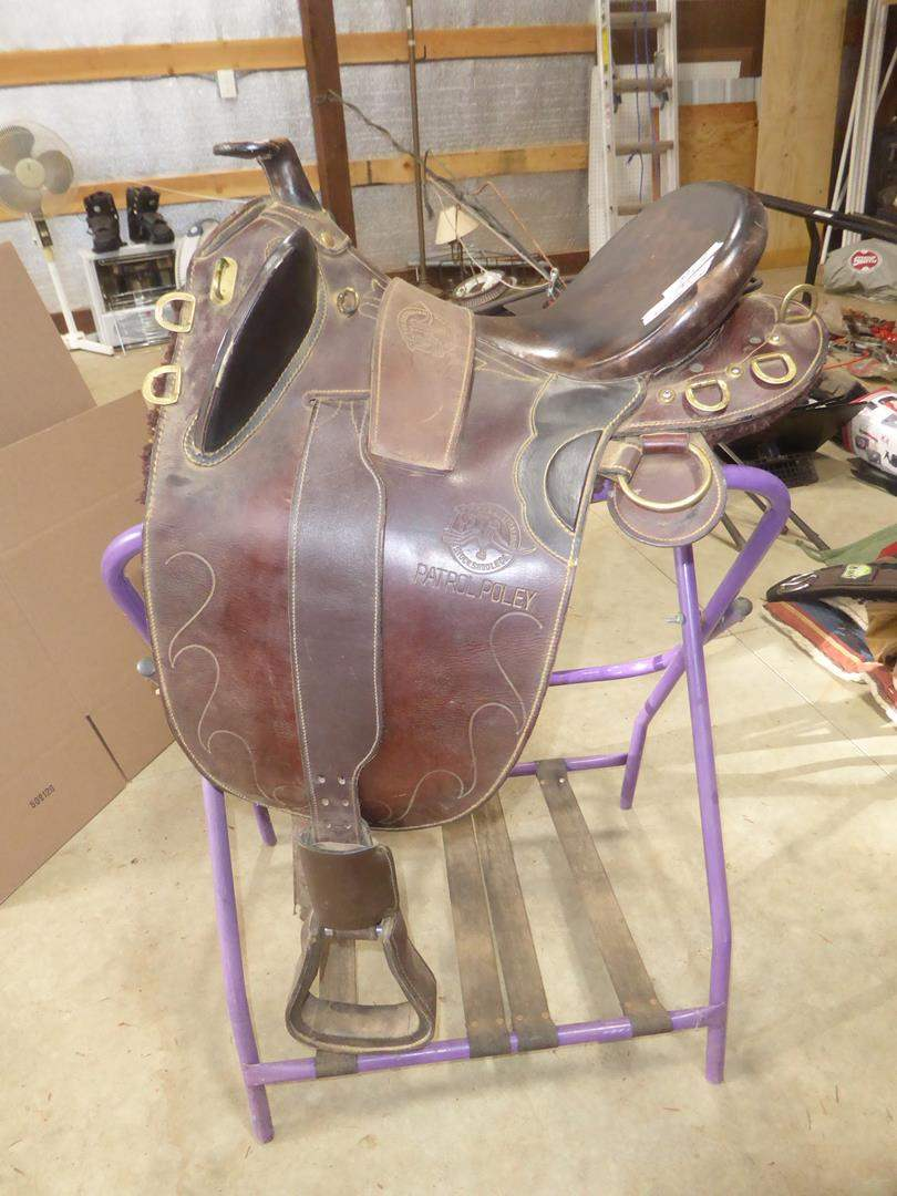 Lot # 69 - Patrol Poley Australian Saddle (main image)