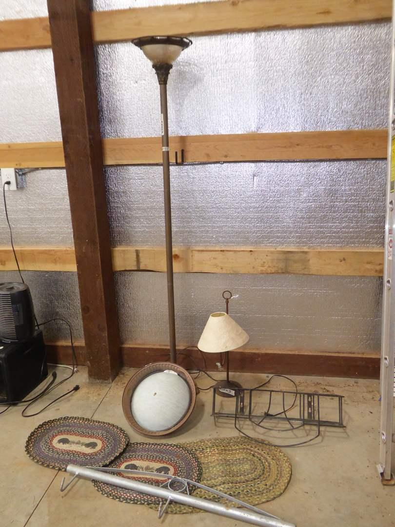 Lot # 9 - Floor Lamp, Table Lamp & Ceiling Lighting