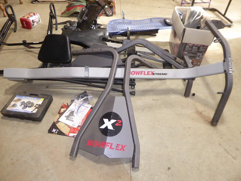Lot # 13 - Bowflex Extreme X2 & Teeter Hang Ups Inversion Table  (main image)