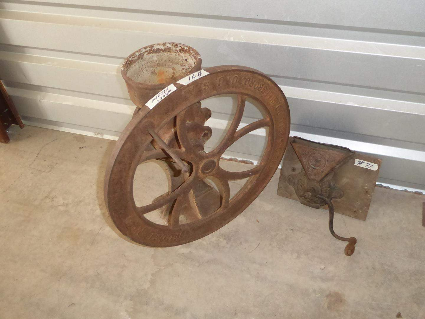 Lot # 71 - Two Antique Coffee Grinders (main image)