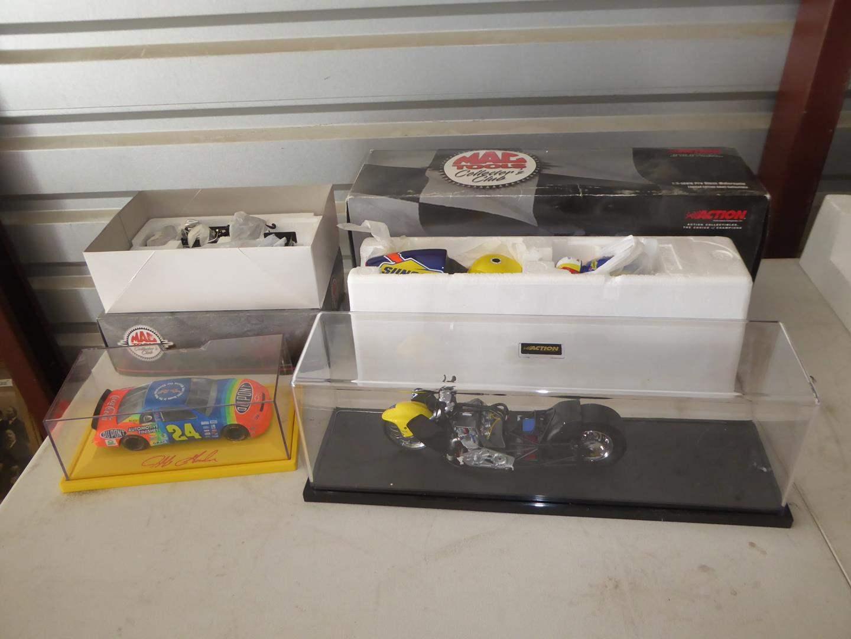 Lot # 77 - Collectible Cars & Motorcycles - Jeff Gordon, Mac Tools & More (NIB) (main image)