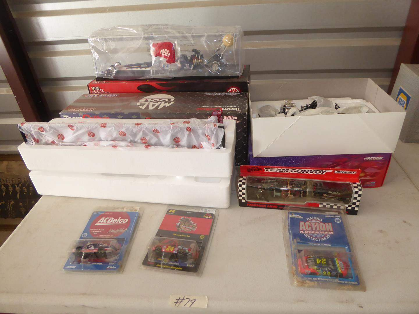 Lot # 79 - Nascars, Funny Car & Dragster -  Collectibles (NIB) (main image)